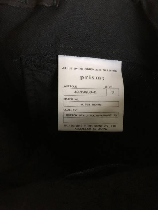 "Julius 2015 ""Prism"" Waxed Cargo Pants NEW Size US 36 / EU 52 - 12"