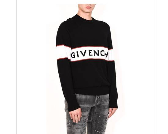 Givenchy BRAND NEW GIVENCHY LOGO EMBROIDERED WOOL SWEATER Size US M / EU 48-50 / 2 - 5