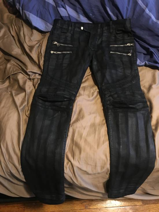 Balmain Black Denim Size US 32 / EU 48