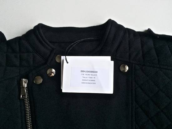 Balmain Balmain Black Quilted Biker Jacket Size US M / EU 48-50 / 2 - 5