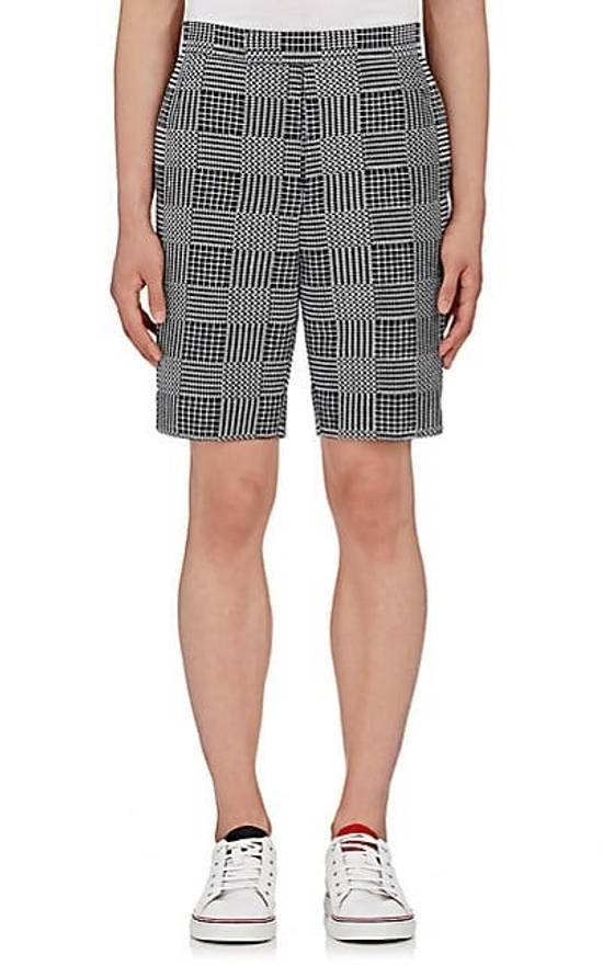 Thom Browne Classic Glen Plaid Embroidered Backstrap Short Size US 28 / EU 44 - 2