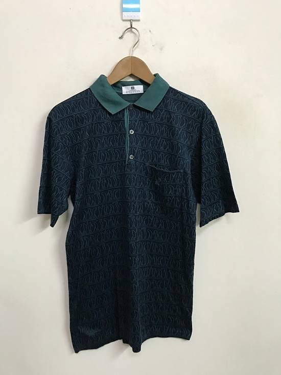 "Givenchy Made in Italy Monsieur Givenchy "" Art of Golfing "" Polo Collar Shirt Size US S / EU 44-46 / 1"