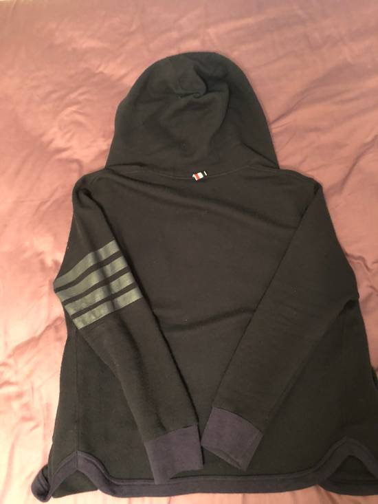 Thom Browne Button Up Hooded Sweater Size US M / EU 48-50 / 2 - 1