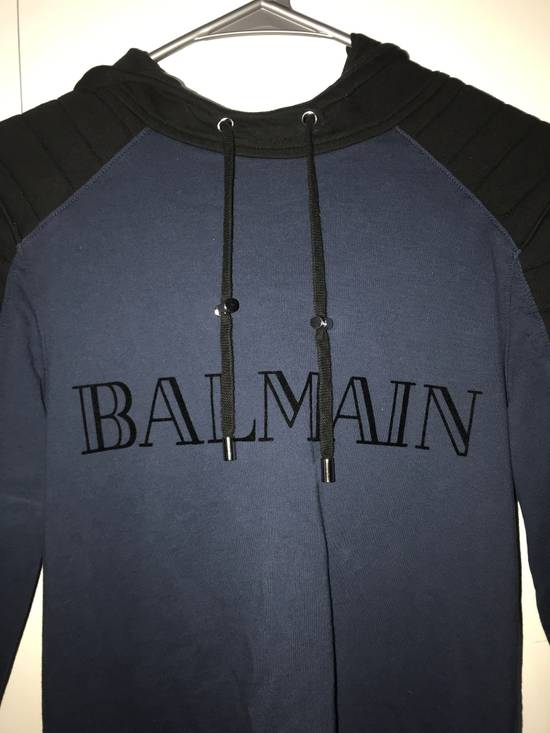 Balmain Balmain x H&M Hoodie (Blue) Size US XS / EU 42 / 0 - 1