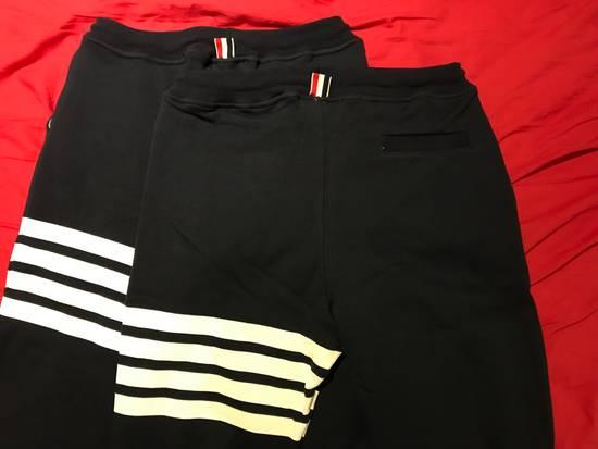 Thom Browne 4-Bar Print Sweatpants Size US 30 / EU 46 - 3