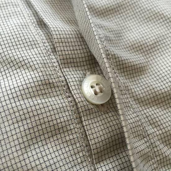 Balmain Tan Band Collar Metal Logo Shirt NWT Size US M / EU 48-50 / 2 - 10