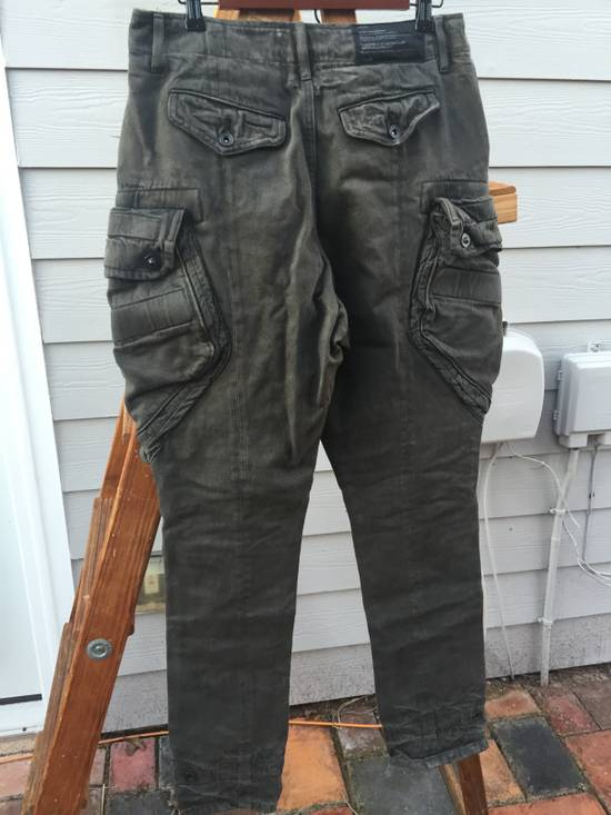 Julius FW12 Heavy Denim Distressed Gasmask Cargos Size US 32 / EU 48 - 10