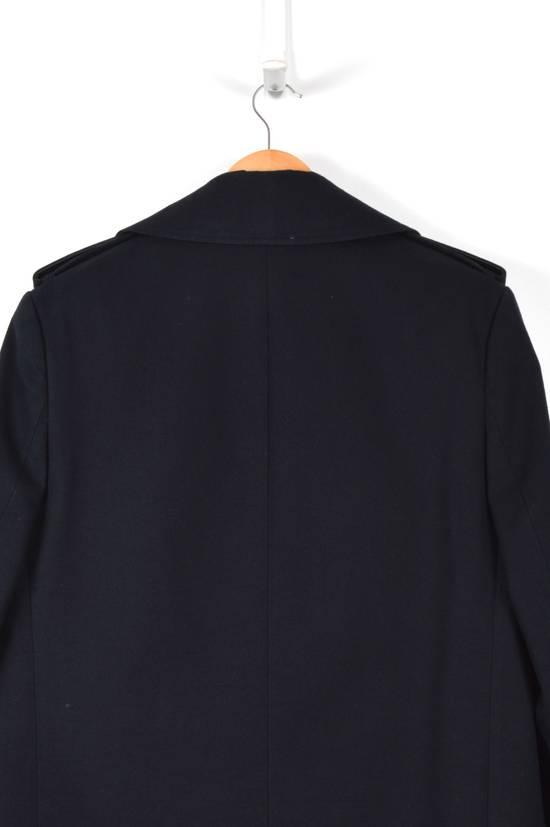 Balmain Cotton Gabardine Nappa Pea Coat Size US L / EU 52-54 / 3 - 3