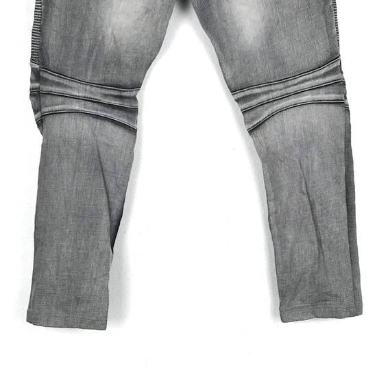 Balmain Rare! Distressed Balmain Biker Denim Jean Trouser Skinny Luxury Designer Size US 32 / EU 48 - 5