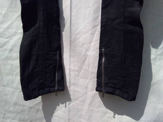 Julius Goth_ik Black Zip Hem Jeans Size US 31 - 2