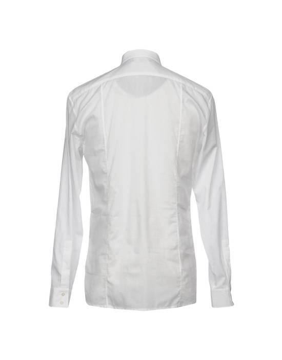 Balmain Size 39 - White Lace-Up Cotton Shirt - SS17 - $1200 Size US M / EU 48-50 / 2 - 9