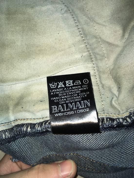 Balmain Slim Biker Jeans Size US 31 - 6