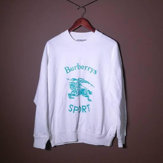 Burberry Vintage Burberry Sport Blouse sweatshirt white cotton mens L Size US L / EU 52-54 / 3
