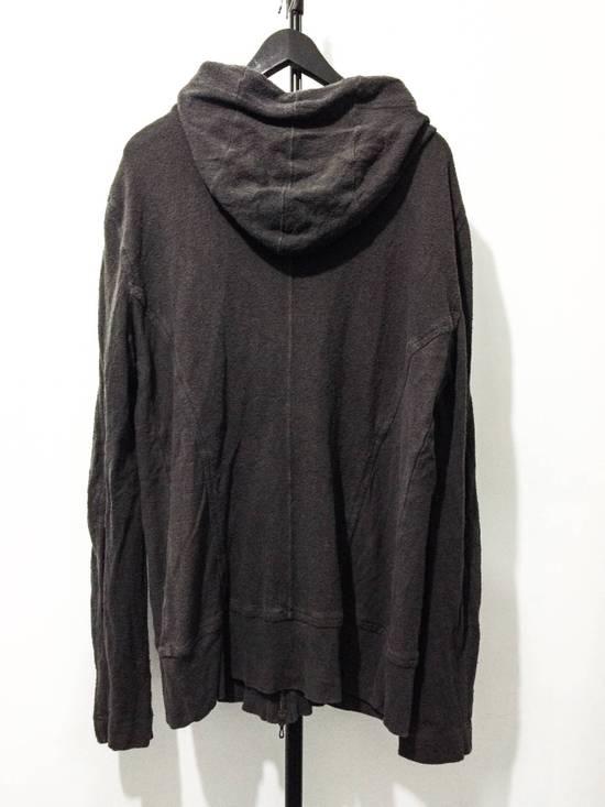 Julius _7 Black Silk and Cotton Crepe Hoodie Size US L / EU 52-54 / 3 - 1