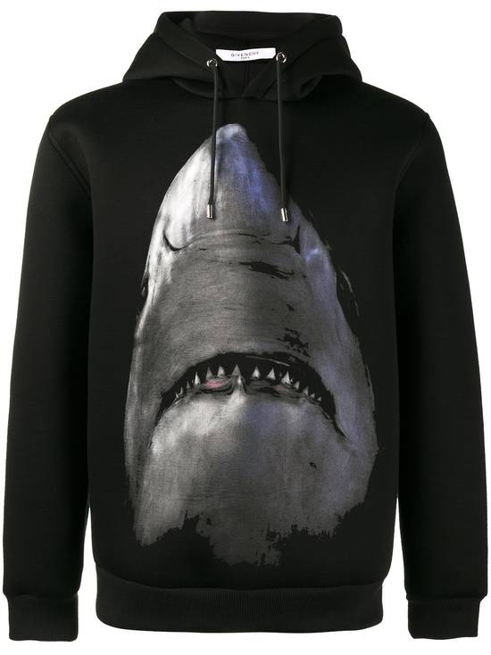 Givenchy $1350 Givenchy Shark Print Rottweiler Stars Neoprene Hoodie size XS Size US XS / EU 42 / 0 - 1