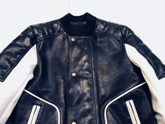 Balmain Full Leather Bomber Jacket Size US M / EU 48-50 / 2 - 1