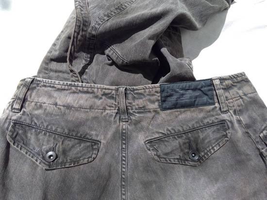 Julius Green Denim Gas Mask Cargo Pants s/s 13 Size US 31 - 12