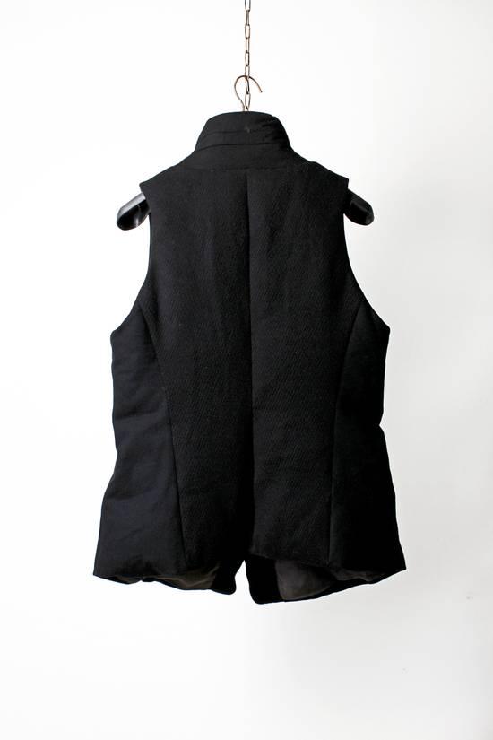 Julius 12aw Black Angora Nylon Serge Vest Size US L / EU 52-54 / 3 - 3