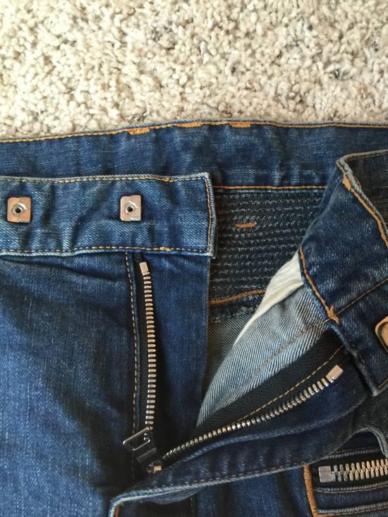Balmain blue biker ss15 Size US 30 / EU 46 - 3