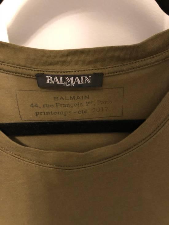 Balmain Balmain SS17 Army Logo T-Shirt Size US XS / EU 42 / 0 - 1