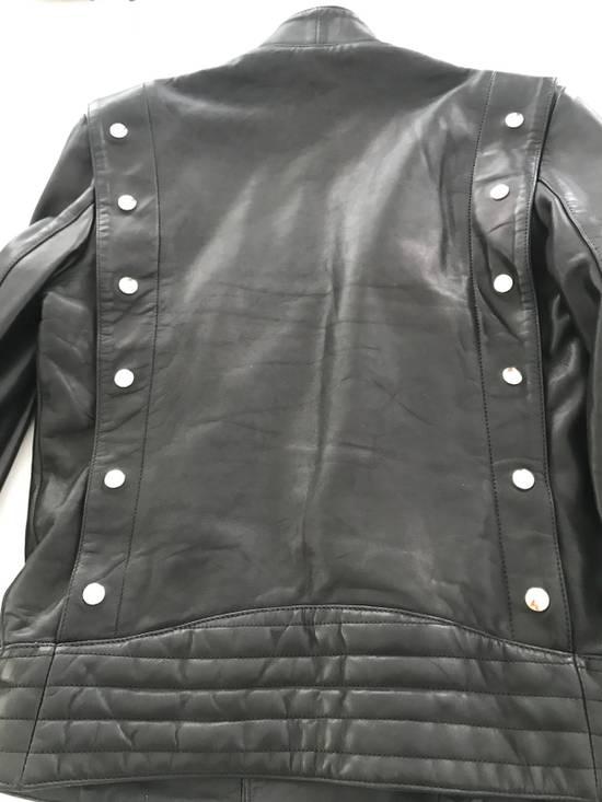 Balmain Balmain Black Leather Jacket Size US M / EU 48-50 / 2 - 2