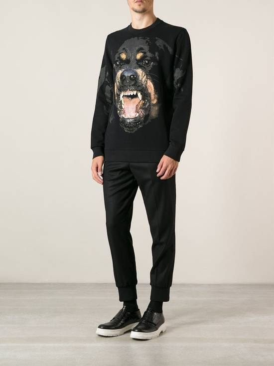 Givenchy Black Rottweiler Sweater Size US L / EU 52-54 / 3 - 1