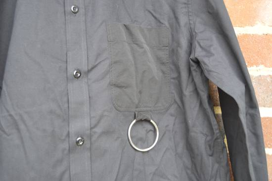 Givenchy Black Metal Ring Pocket Shirt Size US L / EU 52-54 / 3 - 4