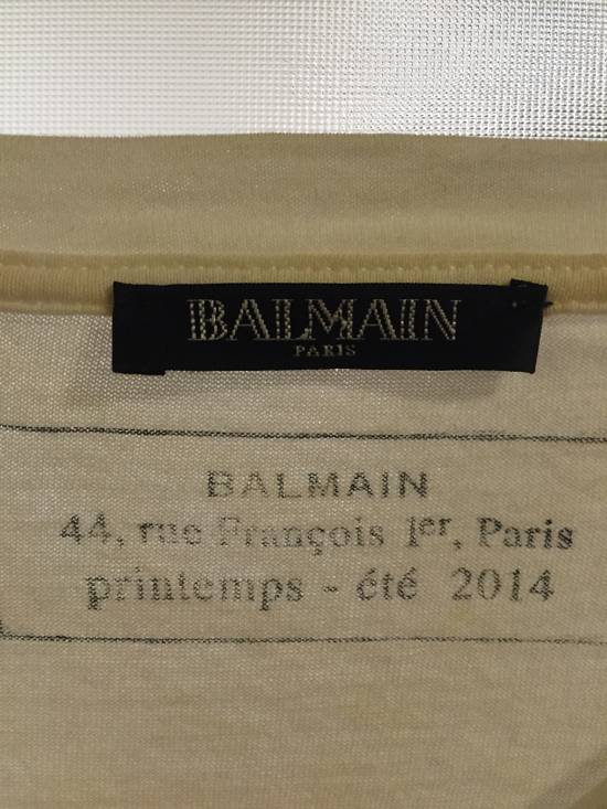 Balmain Balmain white t-shirt graphic Size US XL / EU 56 / 4 - 1