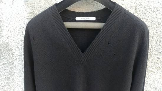 Givenchy Givenchy Destroyed Distressed Wool Slim Fit Rottweiler Knit Sweater Jumper size L (fitted M) Size US M / EU 48-50 / 2 - 6