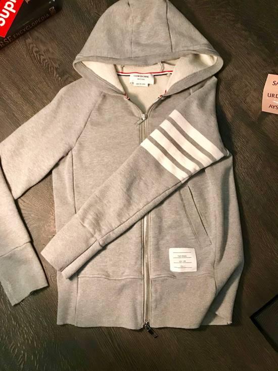 Thom Browne Grey Hoodie Size US S / EU 44-46 / 1