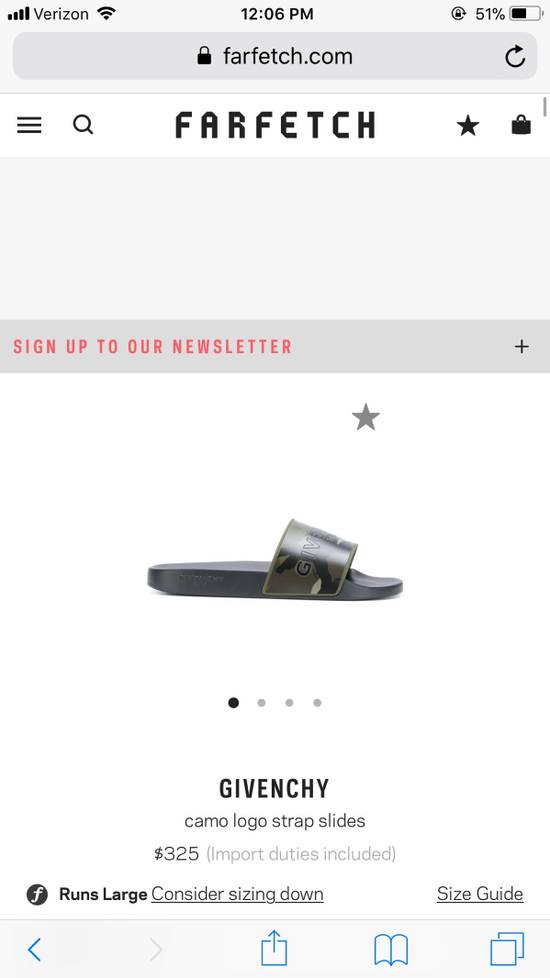 Givenchy Givenchy Camo Slides Size US 10 / EU 43 - 2
