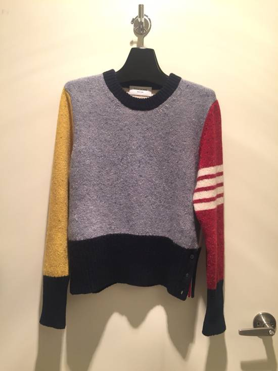 Thom Browne Mohair Wool Funmix Sweater Size US S / EU 44-46 / 1