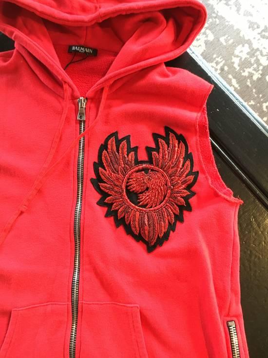 Balmain Balmain Red Sleeveless Vest Size US M / EU 48-50 / 2 - 2