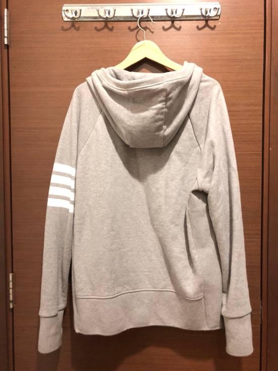 Thom Browne Striped Jersey Zip Up Hoodie Size US L / EU 52-54 / 3 - 4