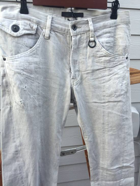 Julius SS09 Distressed J Cut Plaster Denim Size US 30 / EU 46 - 1