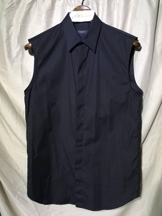 Givenchy SS13 BLACK COLLAR DETAILED SHIRT Size US XS / EU 42 / 0