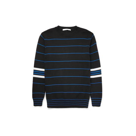 Givenchy GIVENCHY OVERSIZED STRIPED KNITTED COTTON SWEATER by Riccardo Tisci Size US L / EU 52-54 / 3
