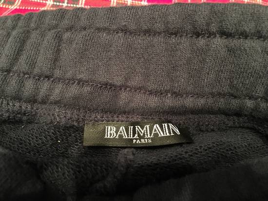 Balmain Houndstooth Embossed Jogging Sweatpants Size US 32 / EU 48 - 3