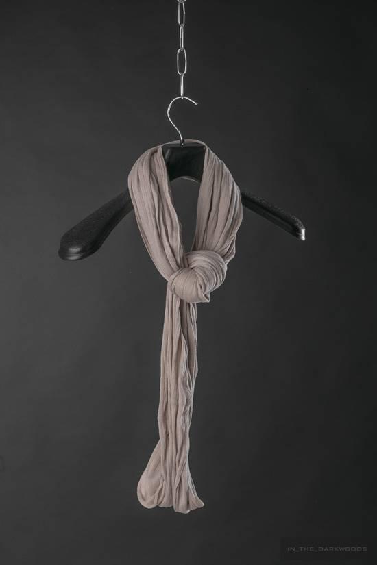 Julius = last drop = 2007SS cotton knit scarf Size ONE SIZE