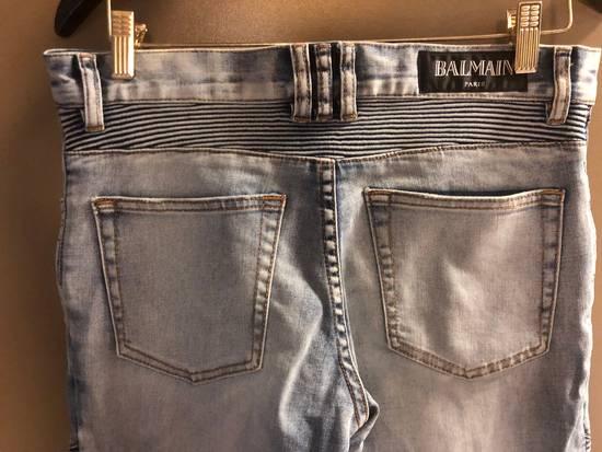 Balmain Distressed Jeans Size US 32 / EU 48 - 5