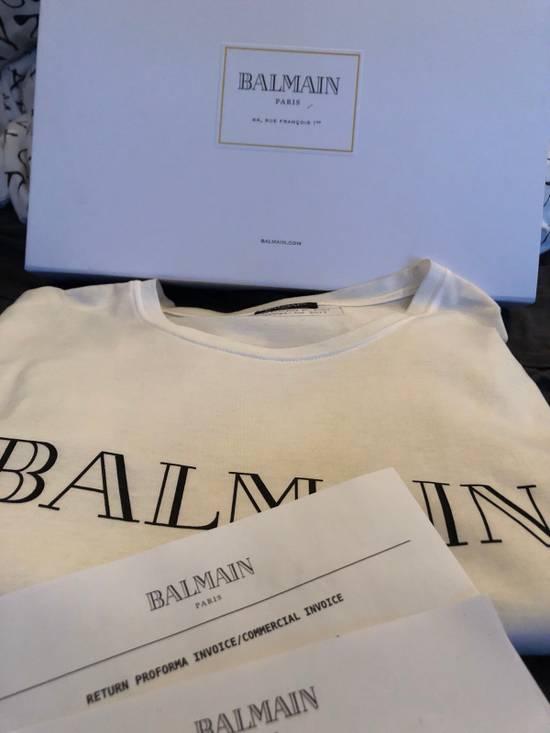 Balmain Balmain Logo Tee Size US XL / EU 56 / 4 - 2