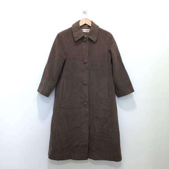 Balmain Vintage Pierre Balmain Paris Wool Long Coat Jacket Camel Brown Size US S / EU 44-46 / 1