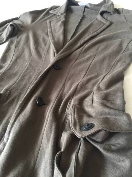 Julius Japan made long jersey oversize Popper fastening Gasmask pocket jacket Size US S / EU 44-46 / 1 - 11