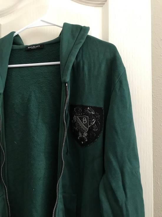 Balmain Decarnin Era SS2011 Badge Hoodie. Size US M / EU 48-50 / 2 - 1