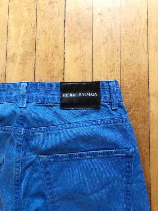 Balmain *Last Drop* Slim Denim Jeans Size US 30 / EU 46 - 4