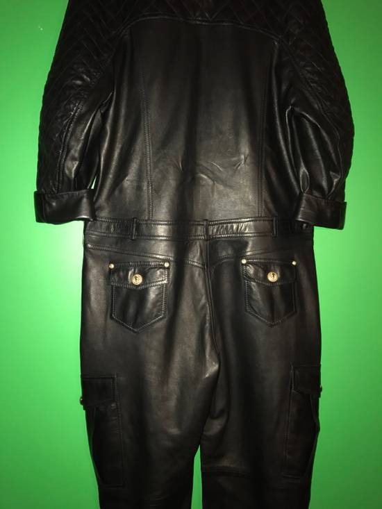 Balmain Balmain Spring 2014 Leather Jumpsuit Size US XL / EU 56 / 4 - 6