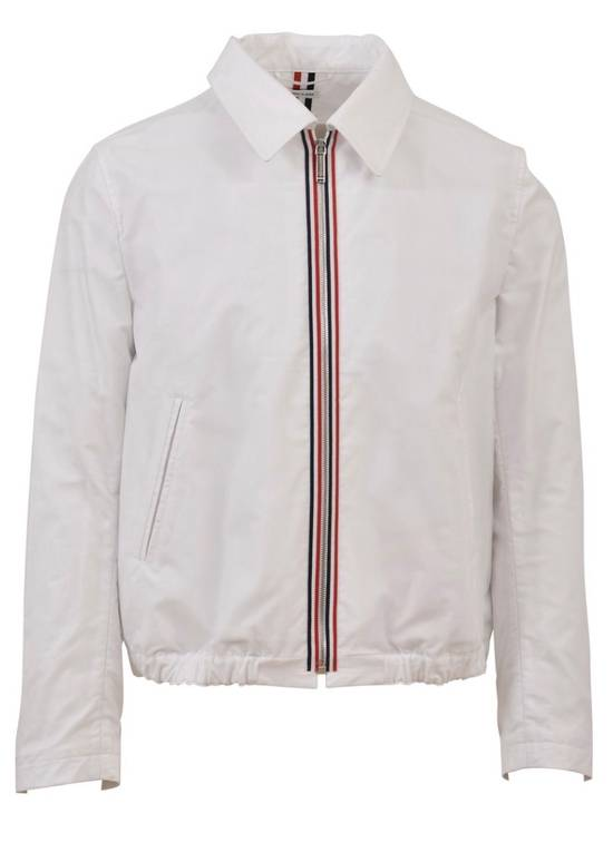 Thom Browne Brand New Thom Browne Strip Embroidered Jacket Size US S / EU 44-46 / 1