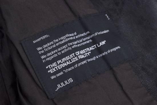Julius Black Buffalo Leather Jacket SS08 Size US M / EU 48-50 / 2 - 3