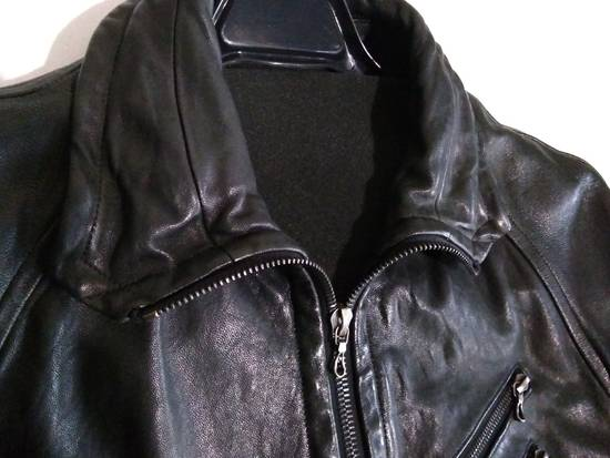 Julius Jut Neck Leather Jacket s/s08 Size US M / EU 48-50 / 2 - 3