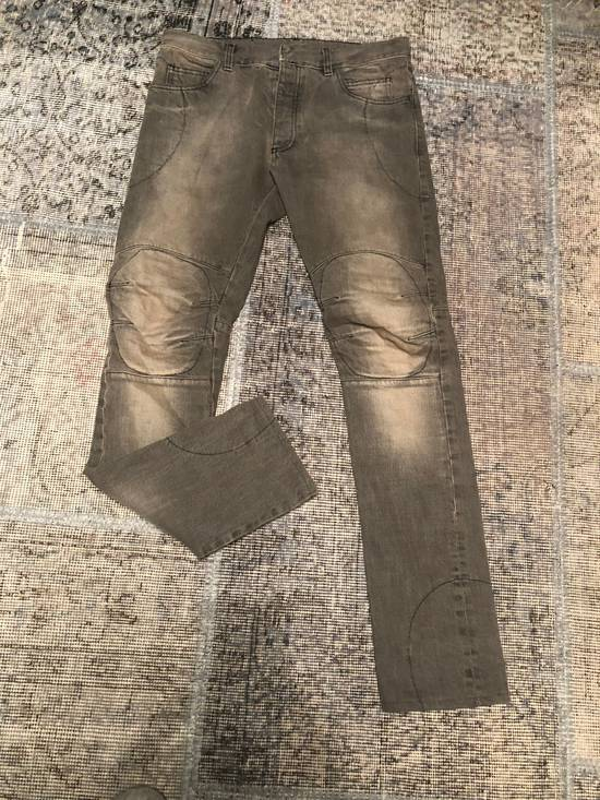 Balmain Balmain Washed Grey Denim Size US 32 / EU 48